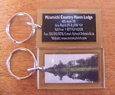 Country Haven souvenier keychains